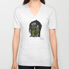 Input, Lost in Wonder, Lost in Love, Lost in Praise, forevermore  Unisex V-Neck