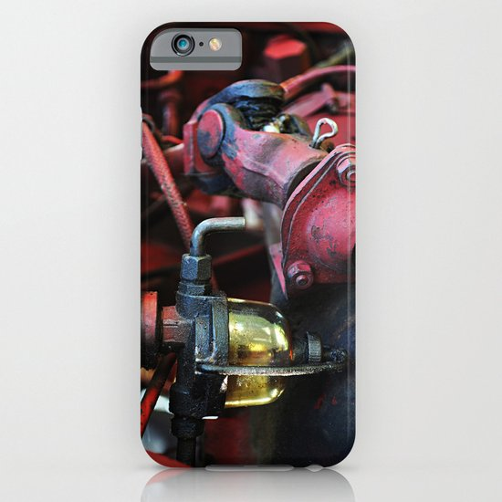 Fuel Sediment Bowl iPhone & iPod Case