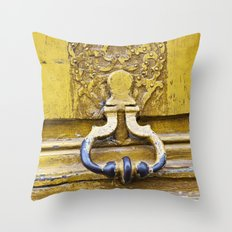 It Was All Yellow Throw Pillow