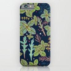 dark herbs pattern iPhone 6 Slim Case