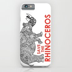 Save the Rhino Slim Case iPhone 6s