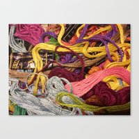 Ordered chaos // still life Canvas Print