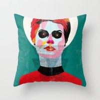 Girl_131113 Throw Pillow