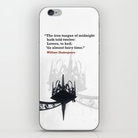 Fairy Time iPhone & iPod Skin