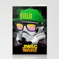 Stormtrooper Swag Stationery Cards