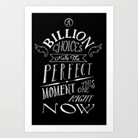 Perfect Moment Art Print