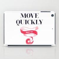 Move Quickly, Break Shit iPad Case