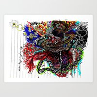 Dimensional Dissectional Art Print