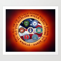 Thank You Veterans 2015 Art Print
