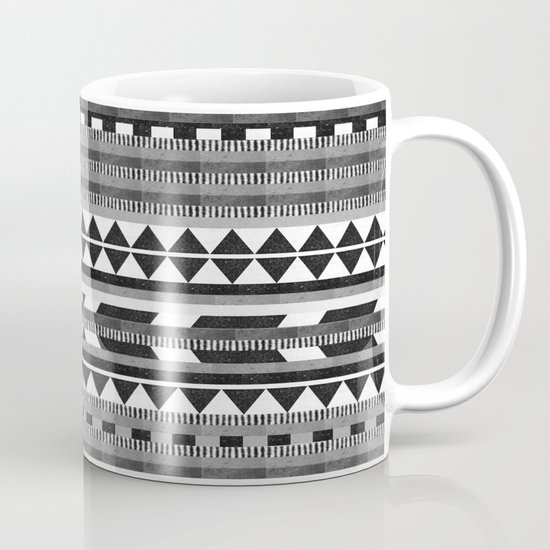 DG Aztec No.1 Monotone Mug