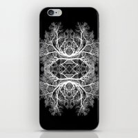 The Giving Tree - Black iPhone & iPod Skin