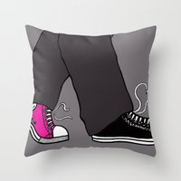 Converse Love Throw Pillow