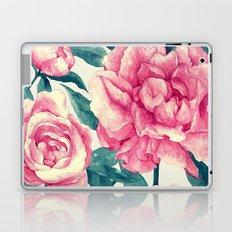 Peonies (soft tone) Laptop & iPad Skin