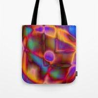 Geometry And Color Tote Bag