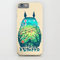 owl iPhone & iPod Cases featuring He Is My Neighbor by Victor Vercesi
