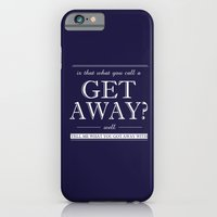 iPhone & iPod Case featuring Get Away by kiittts