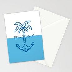 Sink or Swim Stationery Cards