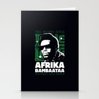 The Mighty Souls: Afrika… Stationery Cards