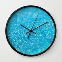 Mermaid Sparkles Wall Clock
