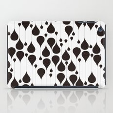 Monochrome Waterdrops Pa… iPad Case