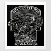Kessel Run Art Print