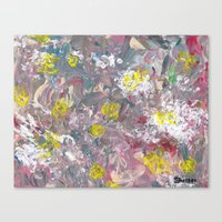 The Blindfolded Canvas Print