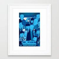 Breaking Bad (blue Versi… Framed Art Print