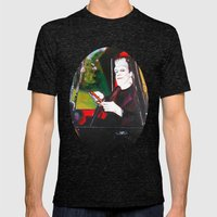 The Munsters Herman Muns… Mens Fitted Tee Tri-Black SMALL