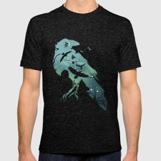 Night's Watch Mens Fitted Tee Tri-Black SMALL