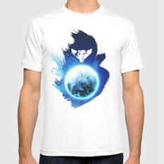 Metroid Prime 3: Corruption SMALL Mens Fitted Tee White