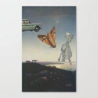 And I Feel Like Everythi… Canvas Print