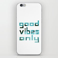 good vibes only // Punta Cana iPhone & iPod Skin