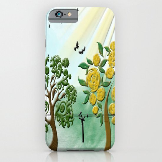 Peach tree iPhone & iPod Case