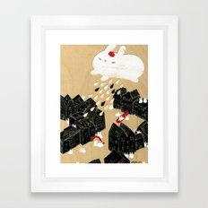 Rain of Terror Framed Art Print