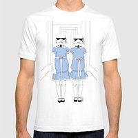 Grady Twins Troopers Mens Fitted Tee White SMALL