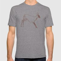 Little Doe Mens Fitted Tee Athletic Grey SMALL