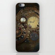 Steampunk Clocks iPhone & iPod Skin