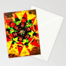Tribal colors Stationery Cards