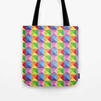 Squiangle Again & Again... Tote Bag