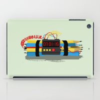 Even ideas bomb iPad Case