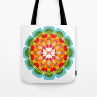 Kaleidoscope Flora 01 Tote Bag