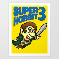 Super Hobbit Art Print