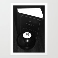 All the Answers Art Print