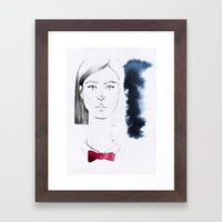 Dina Framed Art Print