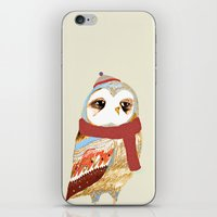 Winter Owl iPhone & iPod Skin