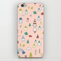 A PLACE BEYOND THE WOODS iPhone & iPod Skin