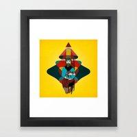 Goat Herder 2 Framed Art Print