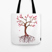 Dead Roots Tree Watercol… Tote Bag