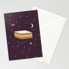 Ham & Cheese in Space Stationery Cards
