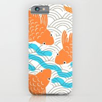 iPhone & iPod Case featuring Lucky Fish by Pink Pagoda Studio / Barbara Perrine Chu